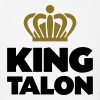 King talon name thing crown - Men's T-Shirt