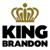 King brandon name thing crown - Men's T-Shirt