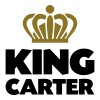King carter name thing crown - Men's T-Shirt