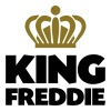 King freddie name thing crown - Men's T-Shirt