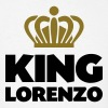 King lorenzo name thing crown - Men's T-Shirt
