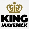 King maverick name thing crown - Men's T-Shirt
