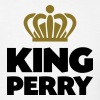 King perry name thing crown - Men's T-Shirt