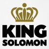 King solomon name thing crown - Men's T-Shirt