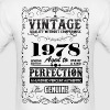 Premium Vintage 1978 Aged To Perfection - Men's T-Shirt