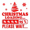 christmas loading 3.png - Men's T-Shirt