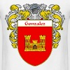 gonzalez_coat_of_arms_mantled - Men's T-Shirt
