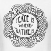 Peace of Nature - Men's T-Shirt