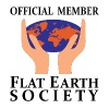 Official Member Flat Earth Society - Men's T-Shirt