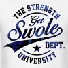 GET SWOLE DEPT. CAMO - Men's T-Shirt