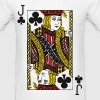 Jack of Clubs - Men's T-Shirt