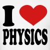 I Love physics - Men's T-Shirt