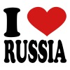 I Love russia - Men's T-Shirt