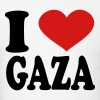 I Love Gaza - Men's T-Shirt