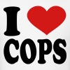 I Love Cops - Men's T-Shirt