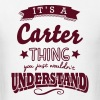 its a carter name surname thing - Men's T-Shirt
