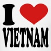 i love vietnam - Men's T-Shirt
