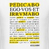Pedicabo ego vos et irrumabo. Funny Collection. - Men's T-Shirt