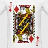 Jack of Diamonds - Men's T-Shirt