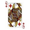 Queen of Diamonds - Men's T-Shirt