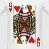 Queen of Hearts - Men's T-Shirt