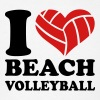Beach volleyball - Men's T-Shirt