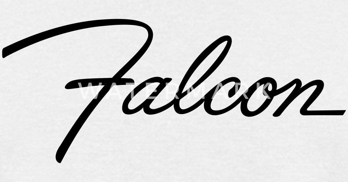 ford falcon script emblem