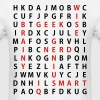 Genius Wordsearch - Men's T-Shirt