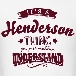 its a henderson name surname thing
