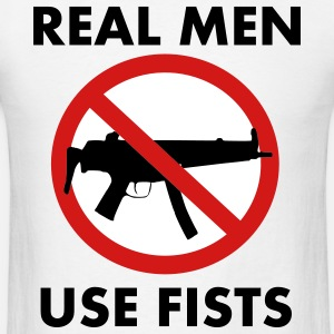 Real Men Use Fists! Design