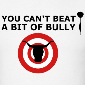 Bulls Eye Can't Beat Bully Funny Darts