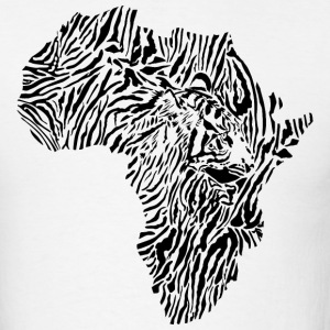 Africa Map Tiger