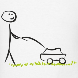 Lawn mover - Men's T-Shirt