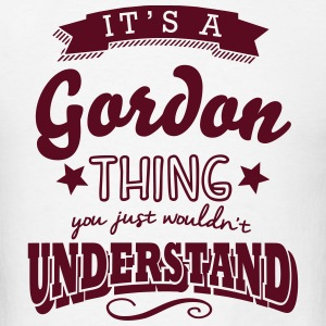 its a gordon name surname thing