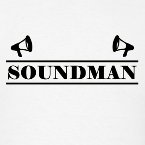 soundman black - Men's T-Shirt