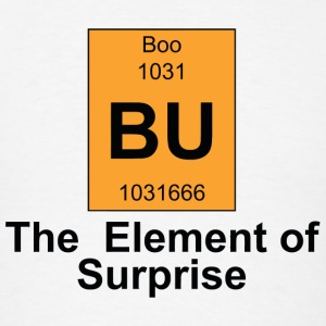 Boo - Boo The Element of Surprise - Men's T-Shirt