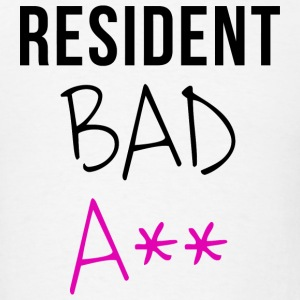 Resident - Resident Bad A** - Men's T-Shirt