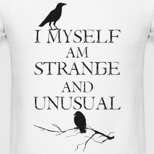 Strange - I Myself Am Strange - Men's T-Shirt