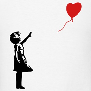 Banksy ba03 red balloon girl