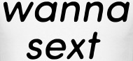 I want to sext someone-6977