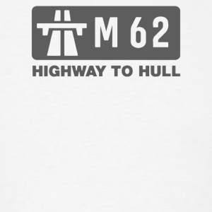 M62 Highway to Hull - Men's T-Shirt