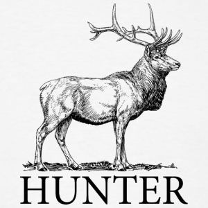 Elk Hunter - Men's T-Shirt