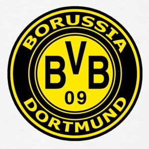 borussia-dortmund-logo-wallpaper - Men's T-Shirt