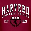 Joke Shirt: Harverd Community College(MIsspelled) - Men's T-Shirt