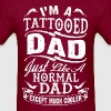 TATTOOED DAD - FATHER DAY - Men's T-Shirt
