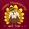 Happy Thanksgiving - Men's T-Shirt