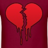 Broken heart - Men's T-Shirt