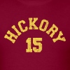 Hoosiers Hickory Huskers Jimmy Chitwood Jersey Replica Vintage Design - Men's T-Shirt