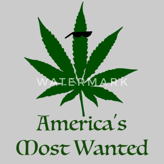 America/'s Most Wanted T-shirt à manches longues 420 Smoking Weed Marijuana Rasta Tee