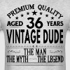 VINTAGE DUDE AGED 36 YEARS - Men's T-Shirt